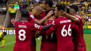 GOLO! Liverpool, Mohamed Salah aos 74', Norwich 0-3 Liverpool