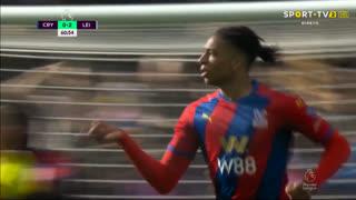 GOLO! Crystal Palace, M. Olise aos 61', Crystal Palace 1-2 Leicester City