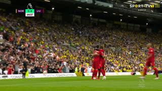 GOLO! Liverpool, Roberto Firmino aos 65', Norwich 0-2 Liverpool