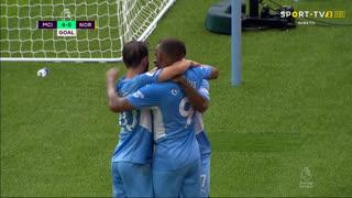 GOLO! Man. City, R. Sterling aos 71', Man. City 4-0 Norwich