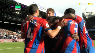 GOLO! Crystal Palace, J. Schlupp aos 72', Crystal Palace 2-2 Leicester City