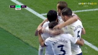 GOLO! Tottenham, Lucas Moura aos 71', Tottenham 2-1 Aston Villa