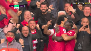 GOLO! Liverpool, S. Mané aos 59', Liverpool 1-0 Man. City
