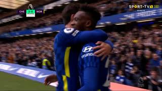 GOLO! Chelsea, C. Hudson-Odoi aos 18', Chelsea 2-0 Norwich