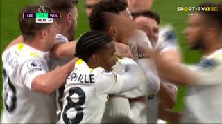 GOLO! Leeds United, Rodrigo aos 90'+4', Leeds United 1-1 Wolverhampton