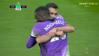 GOLO! Tottenham, T. NDombèlé aos 17', Newcastle 1-1 Tottenham