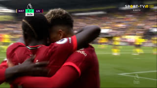 GOLO! Liverpool, Roberto Firmino aos 37', Watford 0-2 Liverpool