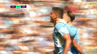 GOLO! Man. City, Rodri Hernández aos 53', Man. City 4-0 Arsenal