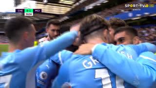 GOLO! Man. City, Gabriel Jesus aos 53', Chelsea 0-1 Man. City
