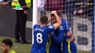 GOLO! Chelsea, M. Mount aos 90'+1', Chelsea 7-0 Norwich