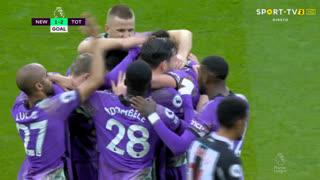 GOLO! Tottenham, H. Kane aos 22', Newcastle 1-2 Tottenham