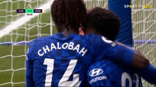 GOLO! Chelsea, R. James aos 42', Chelsea 3-0 Norwich