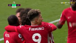 GOLO! Liverpool, Mohamed Salah aos 54', Watford 0-4 Liverpool