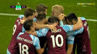 GOLO! Burnley, B. Mee aos 53', Everton 0-1 Burnley
