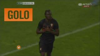 GOLO! Portugal, Éder aos 52', Itália 0-1 Portugal