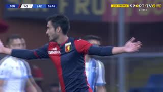 GOLO! Genoa, F. Cassata aos 57', Genoa 1-2 Lazio