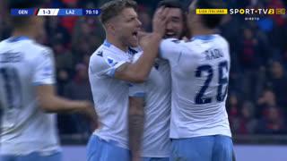 GOLO! Lazio, D. Cataldi aos 71', Genoa 1-3 Lazio