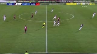 GOLO! Cagliari, G. Simeone aos 47', Cagliari 2-0 Juventus