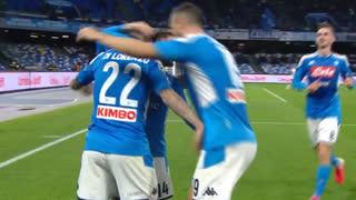 GOLO! Napoli, G. Di Lorenzo aos 82', Napoli 2-0 Torino