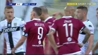 GOLO! Torino, N. N'Koulou aos 15', Torino 1-0 Parma