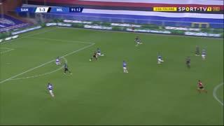GOLO! Milan, Rafael Leão aos 90'+2', Sampdoria 1-4 Milan