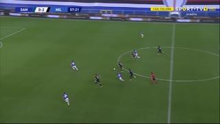 GOLO! Milan, H. Çalhano?lu aos 52', Sampdoria 0-2 Milan