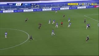 GOLO! Sampdoria, K. Askildsen aos 87', Sampdoria 1-3 Milan