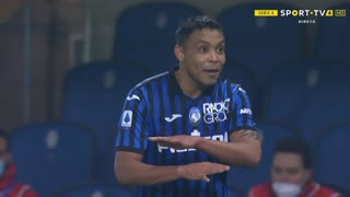 GOLO! Atalanta, L. Muriel aos 71', Atalanta 3-1 Napoli