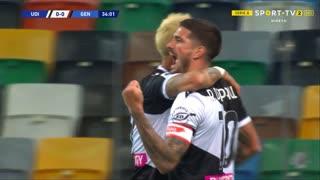 GOLO! Udinese, R. de Paul aos 34', Udinese 1-0 Genoa