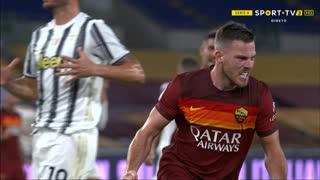 GOLO! Roma, J. Veretout aos 31', Roma 1-0 Juventus