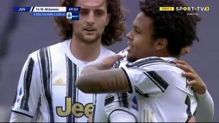 GOLO! Juventus, W. McKennie aos 70', Juventus 3-1 Genoa