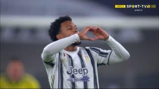 GOLO! Juventus, W. McKennie aos 77', Juventus 2-1 Torino