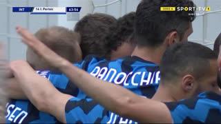GOLO! Internazionale, I. Perišić aos 64', Internazionale 4-0 Udinese
