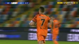 GOLO! Juventus, Cristiano Ronaldo aos 83', Udinese 1-1 Juventus