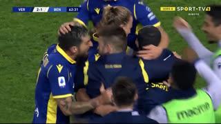 GOLO! Verona, A. Barák aos 63', Verona 2-1 Benevento