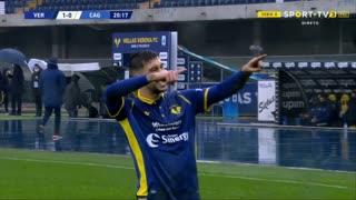 GOLO! Verona, M. Zaccagni aos 21', Verona 1-0 Cagliari