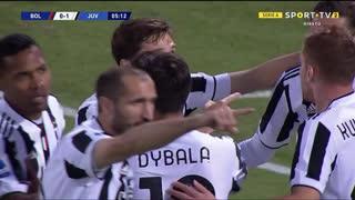 GOLO! Juventus, F. Chiesa aos 6', Bologna 0-1 Juventus
