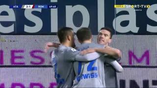 GOLO! Atalanta, L. Muriel aos 70', Atalanta 2-1 Roma
