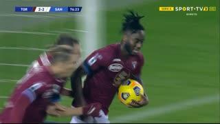 GOLO! Torino, S. Meïté aos 77', Torino 2-2 Sampdoria