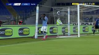 GOLO! Lazio, F. Caicedo aos 57', Lazio 1-3 Atalanta