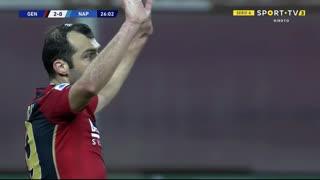 GOLO! Genoa, G. Pandev aos 26', Genoa 2-0 Napoli