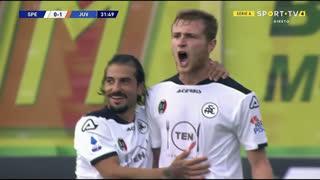 GOLO! Spezia, T. Pobega aos 32', Spezia 1-1 Juventus