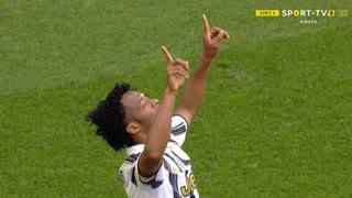 GOLO! Juventus, J. Cuadrado aos 45'+3', Juventus 2-1 Internazionale