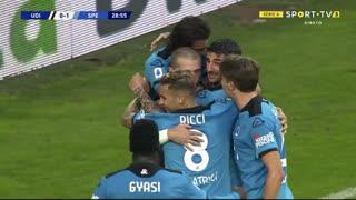 GOLO! Spezia, A. Galabinov aos 29', Udinese 0-1 Spezia