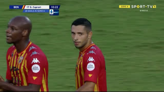 GOLO! Benevento, G. Caprari aos 34', Benevento 1-3 Internazionale