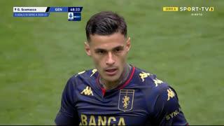 GOLO! Genoa, G. Scamacca aos 49', Juventus 2-1 Genoa