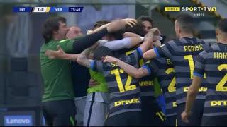 GOLO! Internazionale, M. Darmian aos 76', Internazionale 1-0 Verona