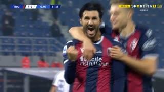 GOLO! Bologna, R. Soriano aos 52', Bologna 2-2 Cagliari