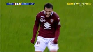 GOLO! Torino, F. Bonazzoli aos 67', Torino 2-2 Udinese