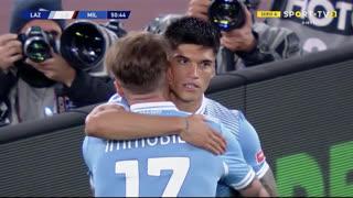 GOLO! Lazio, J. Correa aos 51', Lazio 2-0 Milan